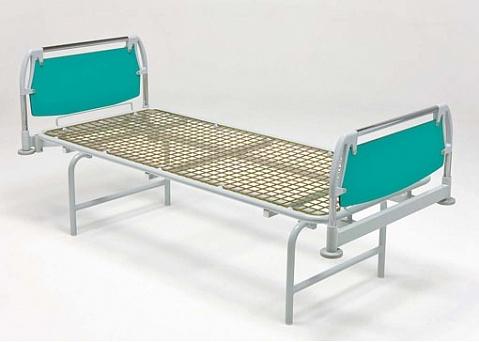 Медицинская кровать палатная общебольничная с цельным ложем, односекционная 11-CP101