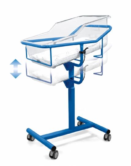 Медицинская кровать для новорожденных Malvestio CT32003