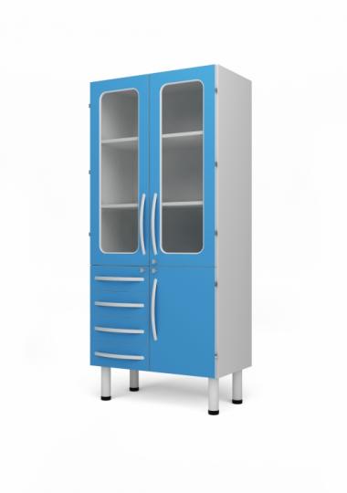 Инструментальный медицинский шкаф 315555