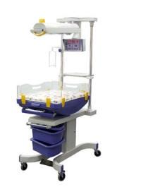 Комплекс реанимационный для новорожденных с поворотным обогреваемым ложем