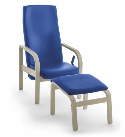 Кресло для отдыха с подставкой 376512 + 376457
