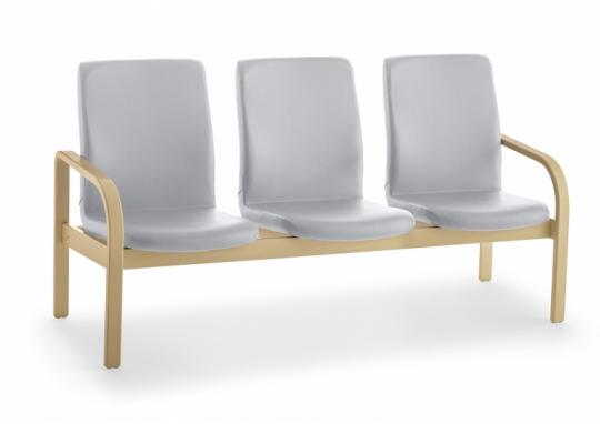 Кресло - скамья с мягкой спинкой и сиденьем 376517
