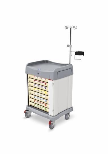 Медицинская функциональная тележка 328050