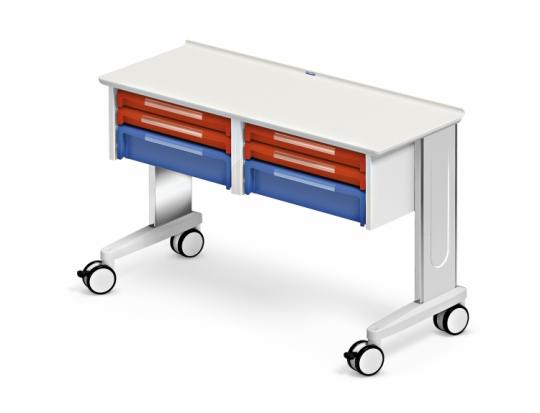 Модульный медицинский стол с ящиками 328840