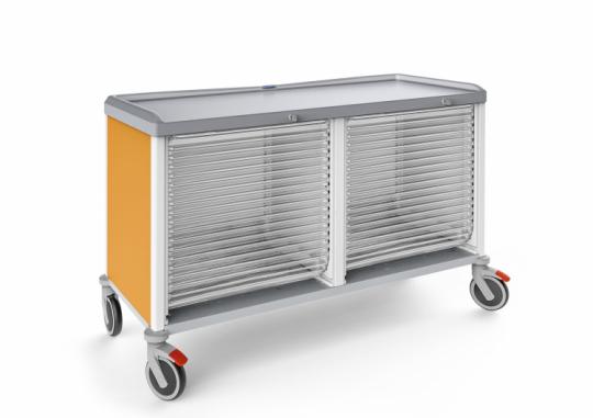 Модульная тележка для лотков и корзин 326525LT