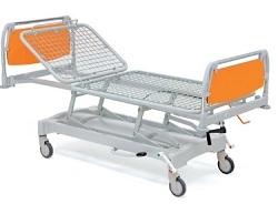 Кровать медицинская металлическая двухсекционная 11-CP143
