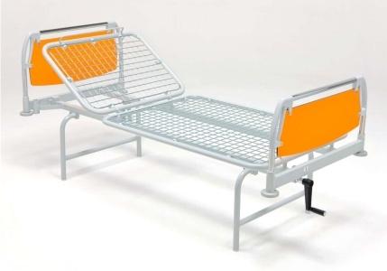 Медицинская функциональная механическая двухсекционная кровать 11-СР103