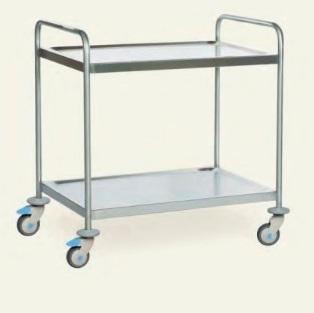Тележка - стол для медицинских инструментов и лекарств модель 40085
