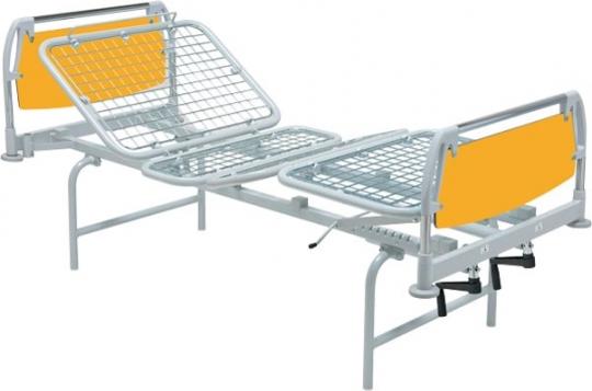 Кровать медицинская на ножках 4 секционная 11-CP107