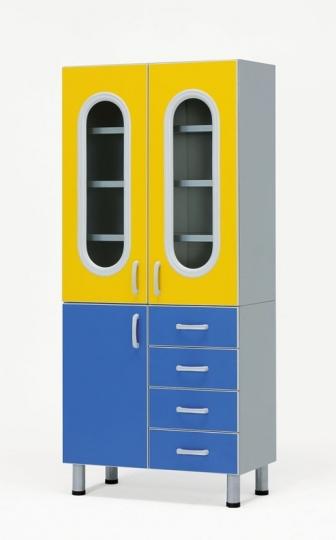 Шкаф для медицинских препаратов для процедурного кабинета 23-PA248